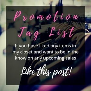 Stay up to date on the latest sales and promotions